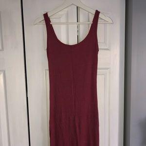 FOREVER 21 Ribbed Tank Dress